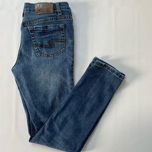Silver Jeans Cairo skinny fit mid-rise jeans